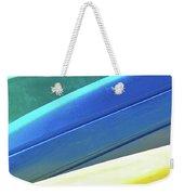 Kayak Angles And Colors Abstract II Weekender Tote Bag