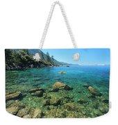 Kayaker's Bliss  Weekender Tote Bag by Sean Sarsfield