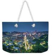 Keelung City Skyline Weekender Tote Bag