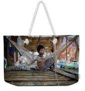 Keeping Cool In Cambodia Weekender Tote Bag