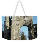 Kelso Abbey Ruin Weekender Tote Bag