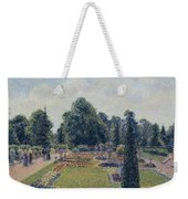 Kew Gardens - Path Between The Pond And The Palm House, 1892 Weekender Tote Bag