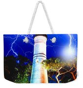 Key West Lightning Light House Weekender Tote Bag