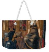 King Cophetua And The Beggar Maid 1884 Weekender Tote Bag