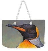 King Penguin Portrait By Alan M Hunt Weekender Tote Bag by Alan M Hunt
