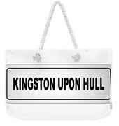 Kingston Upon Hull City Nameplate Weekender Tote Bag