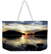 Kiss Of Sunset Weekender Tote Bag