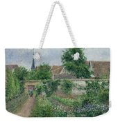Kitchen Garden, Overcast Morning, Eragny, 1891  Weekender Tote Bag