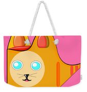 Kitten Footprints Weekender Tote Bag