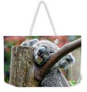 Koala Catching Zs Weekender Tote Bag