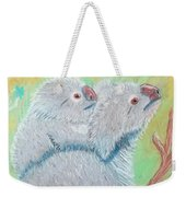 Koala With Baby - Pastel Wildlife Painting Weekender Tote Bag