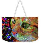 Koko The Orange Cat Weekender Tote Bag