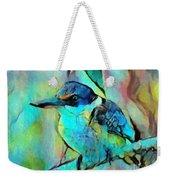 Kookaburra Blues Weekender Tote Bag by Chris Armytage