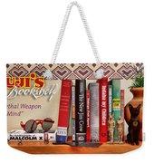 Kuji's Bookshelf Weekender Tote Bag