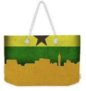 Kumasi Ghana World City Flag Skyline Weekender Tote Bag