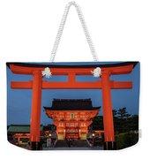 Kyoto Torii Gate Weekender Tote Bag