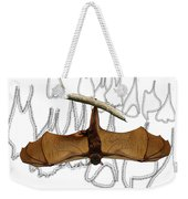 L Is For Little Red Flying Fox Weekender Tote Bag