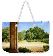 La Purisima Mission Garden From The Arcade Weekender Tote Bag
