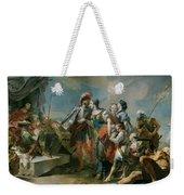 La Reina Zenobia Ante El Emperador Aureliano   Weekender Tote Bag