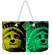 Lady Liberty For All Weekender Tote Bag