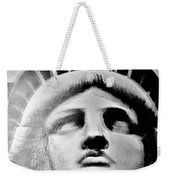 Lady Liberty In Black And White1 Weekender Tote Bag