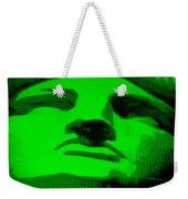 Lady Liberty In Green Weekender Tote Bag