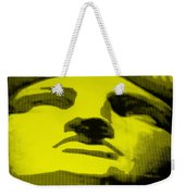 Lady Liberty In Yellow Weekender Tote Bag