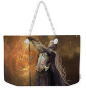 Lady Of The Lake Weekender Tote Bag