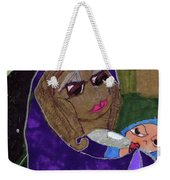 Lady With Child Weekender Tote Bag