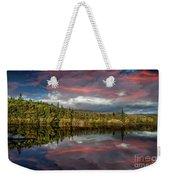 Lake Bodgynydd Sunset Weekender Tote Bag