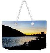 Lake Cuyamaca Sunset Weekender Tote Bag