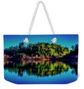Lake Double Reflection Weekender Tote Bag