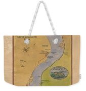 Lake Pepin Weekender Tote Bag