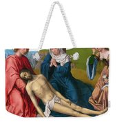 Lamentation Over The Body Of Christ Weekender Tote Bag