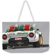 Lancia Stratos Rear Weekender Tote Bag