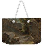 Landscape With Rocks  Augerville  Weekender Tote Bag