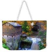 Lanterman's Mill In Fall Weekender Tote Bag