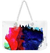 Las Vegas Skyline Brush Stroke Watercolor   Weekender Tote Bag