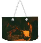 Last Supper Weekender Tote Bag