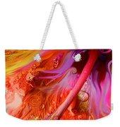 Laughing Hibiscus Weekender Tote Bag
