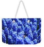 Lavender Field With Bee Weekender Tote Bag