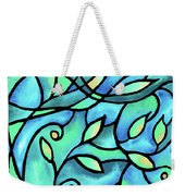 Leaves And Curves Art Nouveau Style II Weekender Tote Bag