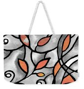 Leaves And Curves Art Nouveau Style Xii Weekender Tote Bag