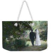 Leaving The Wedding Weekender Tote Bag by Wayne King