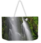 Lee Falls Close Up Weekender Tote Bag