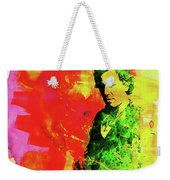 Legendary Bruce Watercolor Weekender Tote Bag