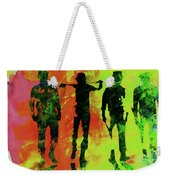 Legendary Clockwork Orange Watercolor Weekender Tote Bag