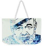 Legendary Hemingway Watercolor Weekender Tote Bag