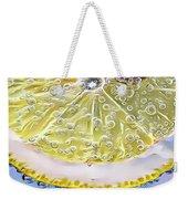 Lemon Slice Weekender Tote Bag