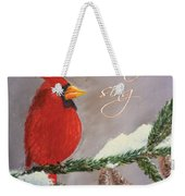 Let Heaven And Nature Sing Weekender Tote Bag